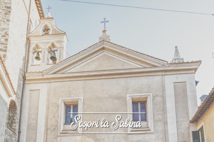 Chiesa di San Giovanni Decollato - cosa vedere in sabina