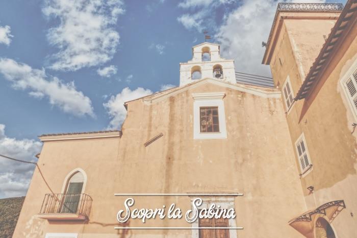 Chiesa di San Valentino e Convento - cosa vedere in sabina