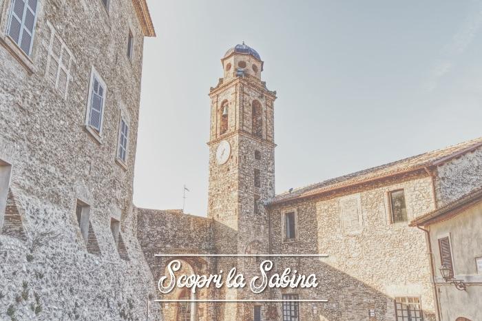Torre dell'Orologio - cosa vedere in sabina