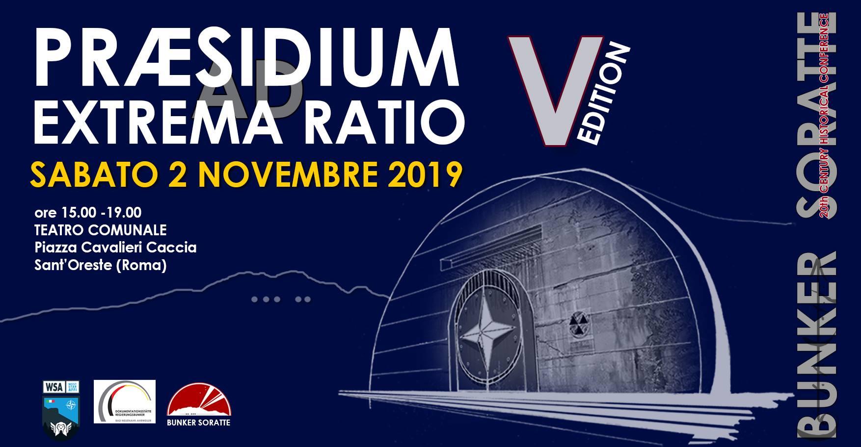 Praesidium ad extrema ratio - eventi in sabina