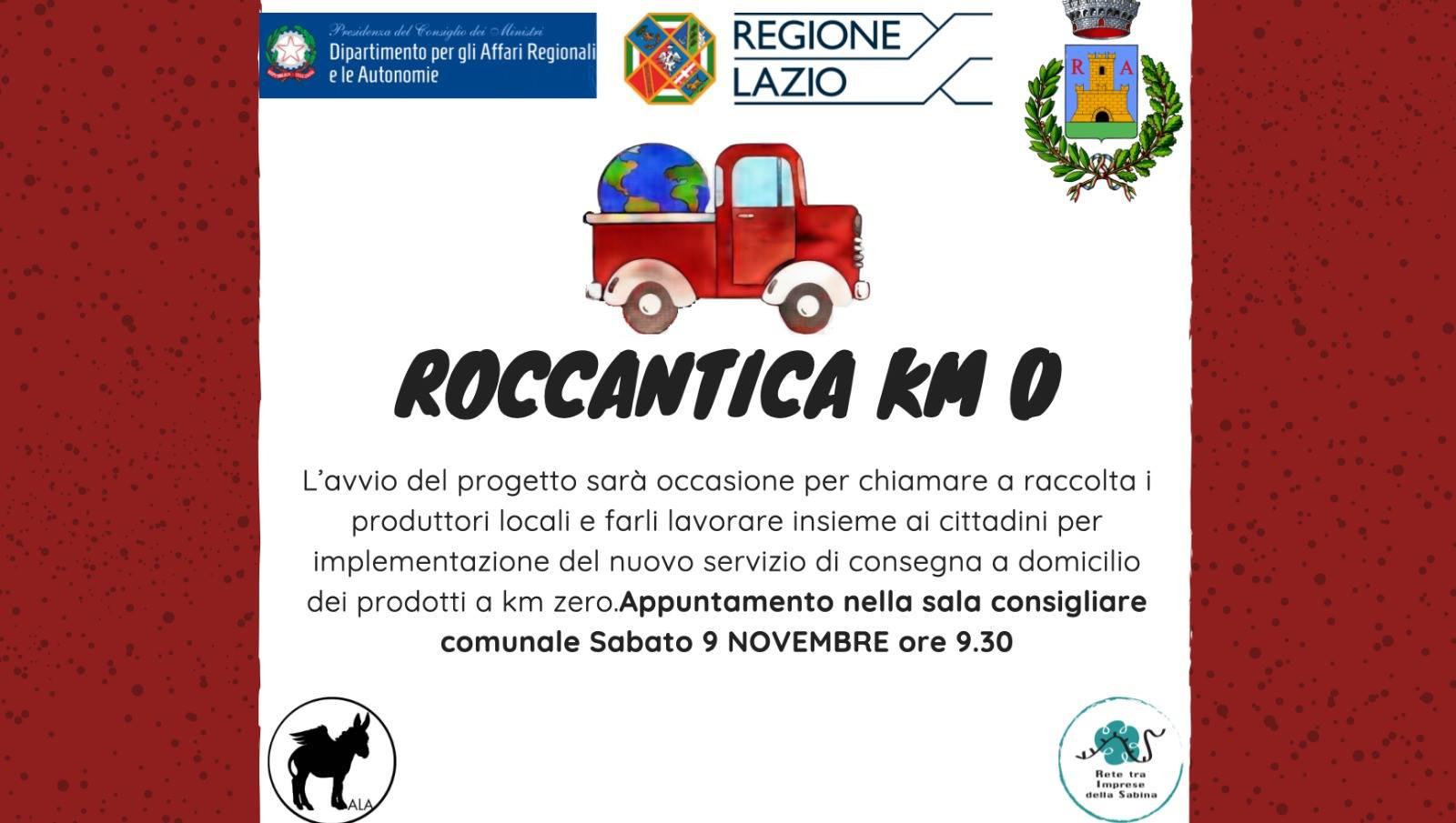Roccantica a KM Zero - eventi in sabina