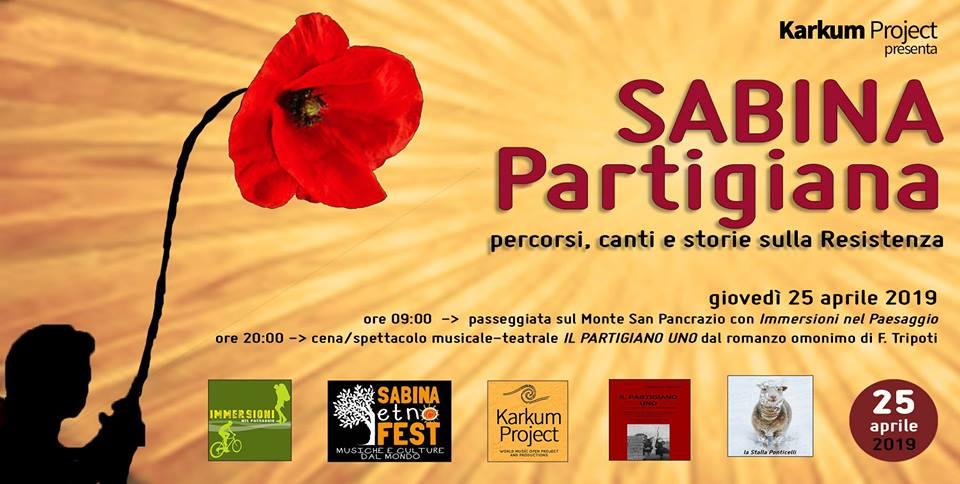 Sabina Partigiana: percorsi canti e storie sulla Resistenza - eventi in sabina