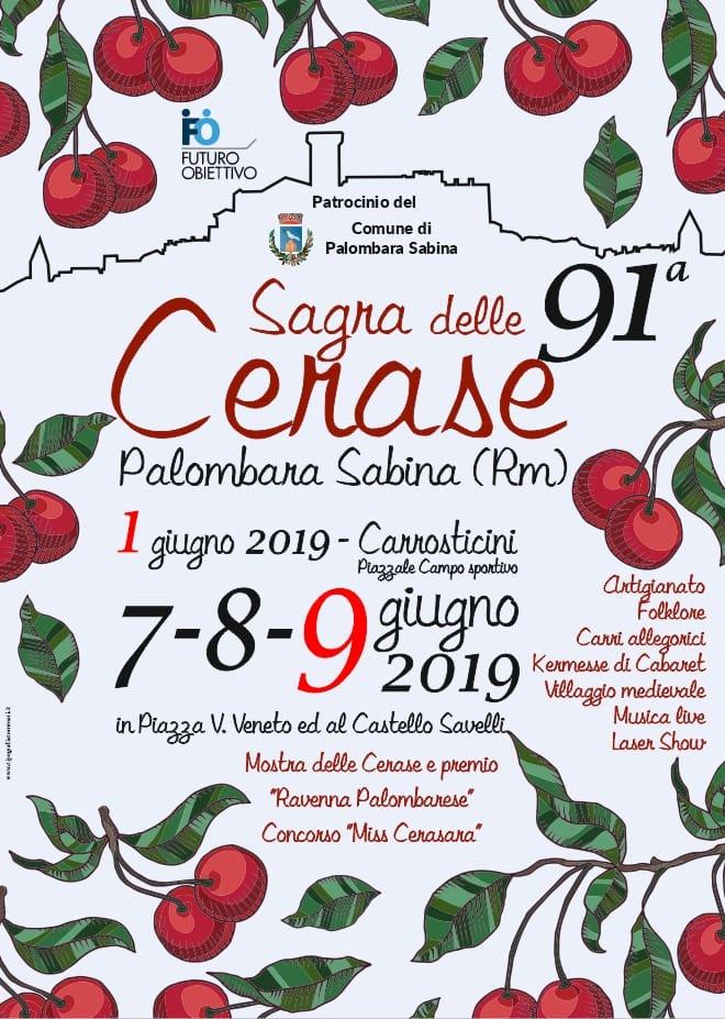 Sagra delle Cerase 2019 – 91^ edizione - eventi in sabina