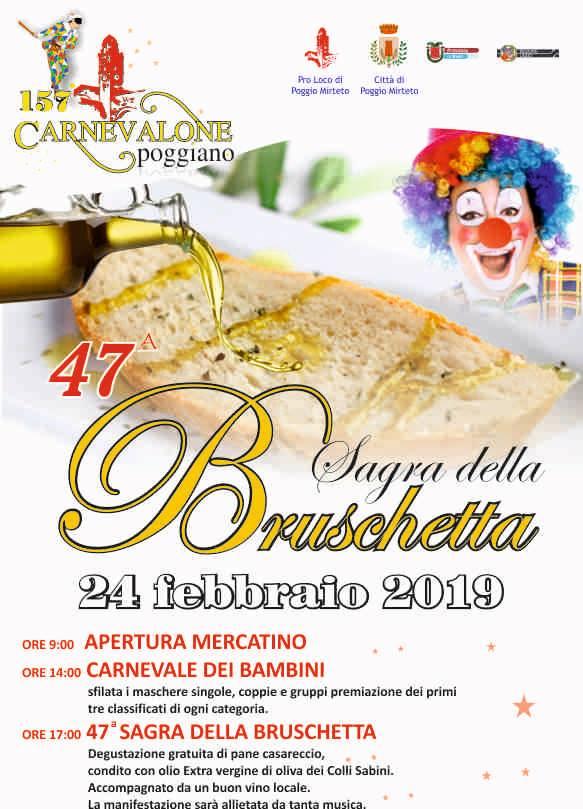 Sagra della Bruschetta di Poggio Mirteto – 47^ edizione - eventi in sabina