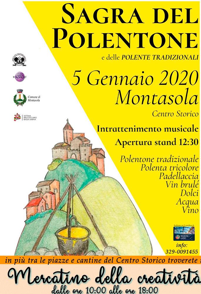 Sagra del Polentone e della Polenta Tradizionale – 3^ edizione - eventi in sabina