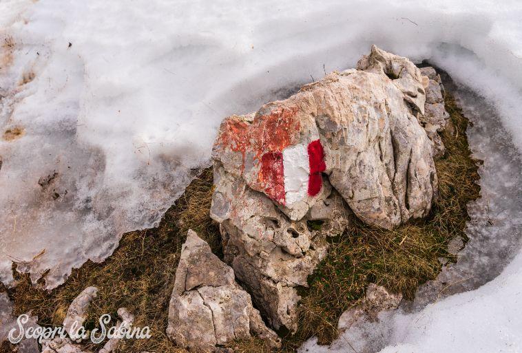 C.A.I. sentieri e segnaletica sul Monte Terminillo