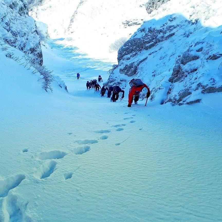 Corso Base di Alpinismo Invernale al Terminillo con guida alpina - eventi in sabina