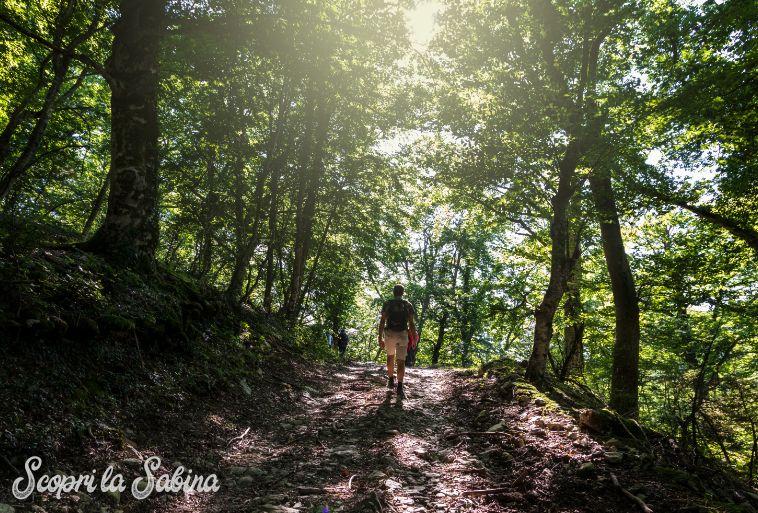 trekking in sabina escursioni nel lazio