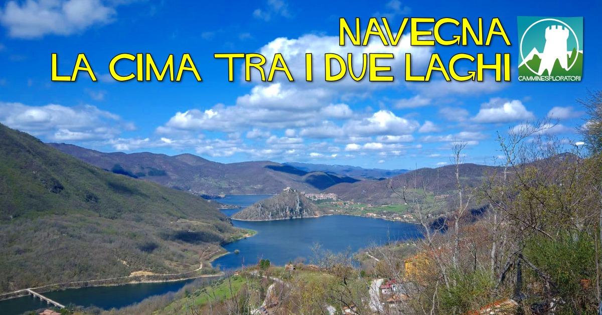 Monte Navegna, la cima tra i due laghi - eventi in sabina
