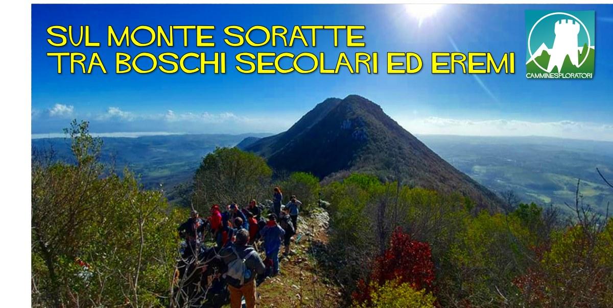 Sul Monte Soratte: tra boschi secolari ed eremi - eventi in sabina