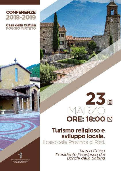 Turismo religioso e sviluppo locale: il caso della Provincia di Rieti - eventi in sabina