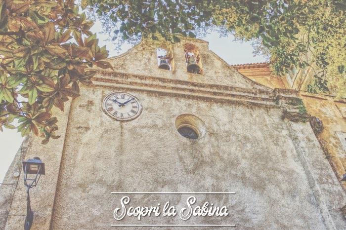 Chiesa Parrocchiale di San Giovanni Evangelista - cosa vedere in sabina