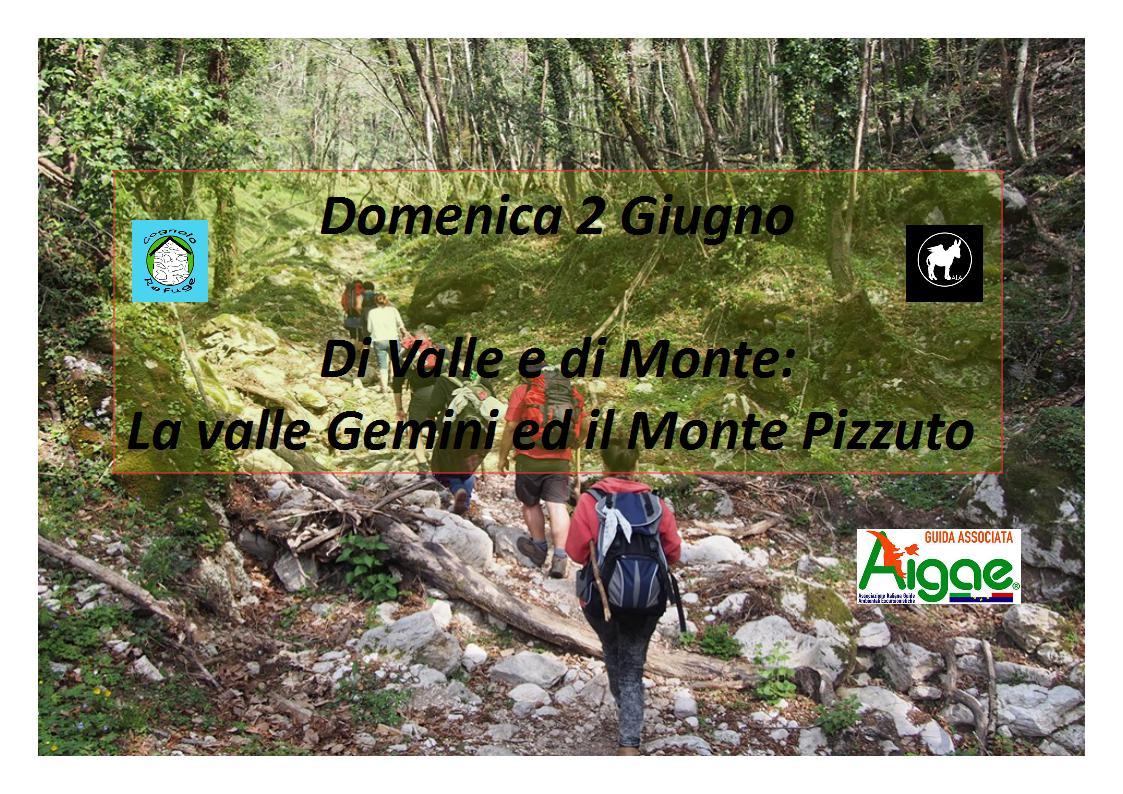 Di Valle e di Monte: escursione Valle Gemini e Monte Pizzuto - eventi in sabina