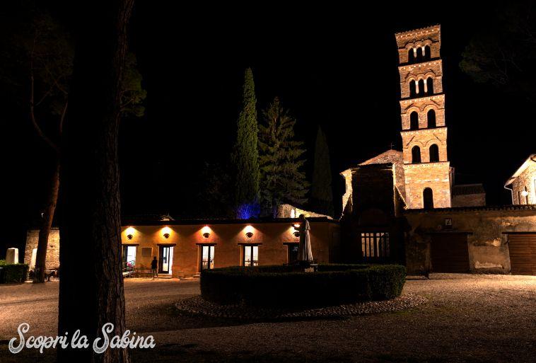 vescovio in sabina torri in sabina notte