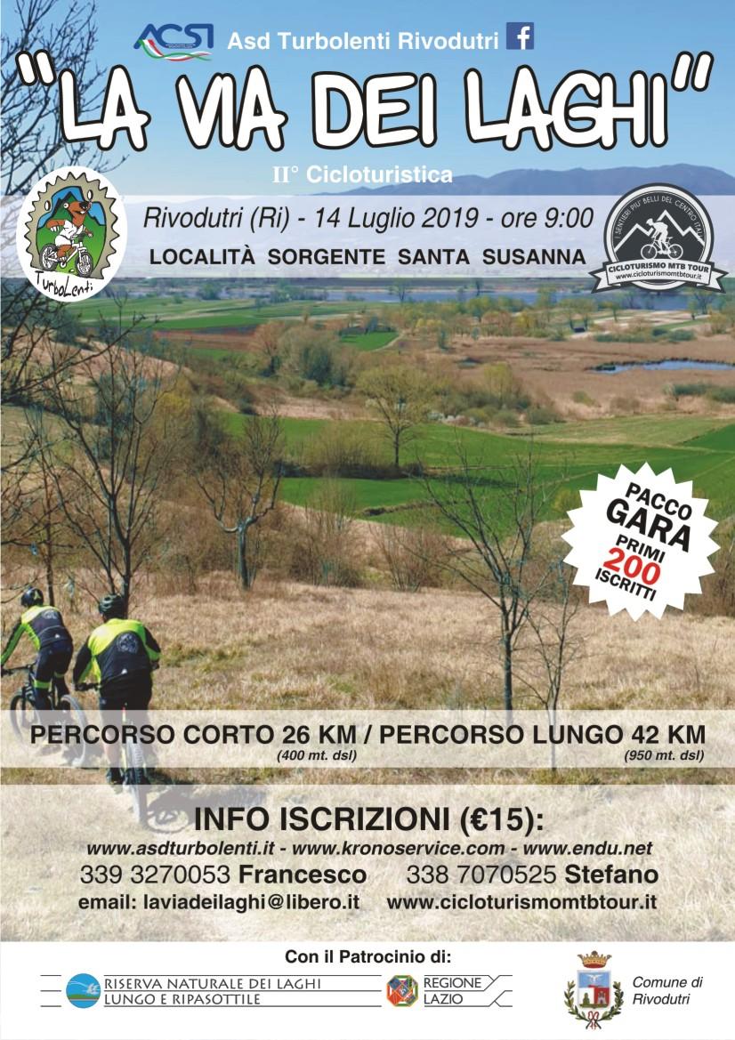 """Cicloturistica """"La Via dei Laghi"""" - eventi in sabina"""