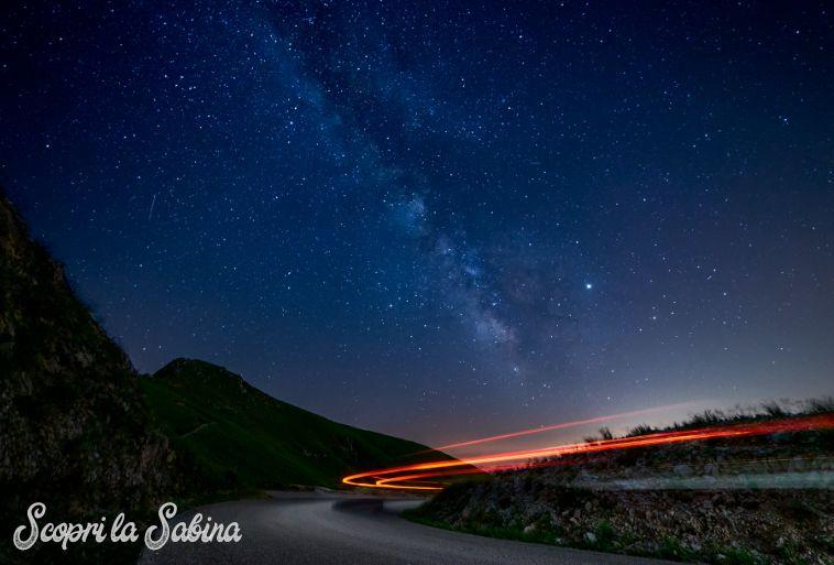 Fotografare la Via Lattea al Terminillo