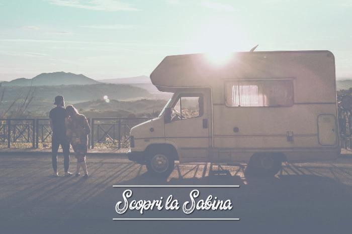 Viaggiare in camper in Sabina: aree sosta e itinerari