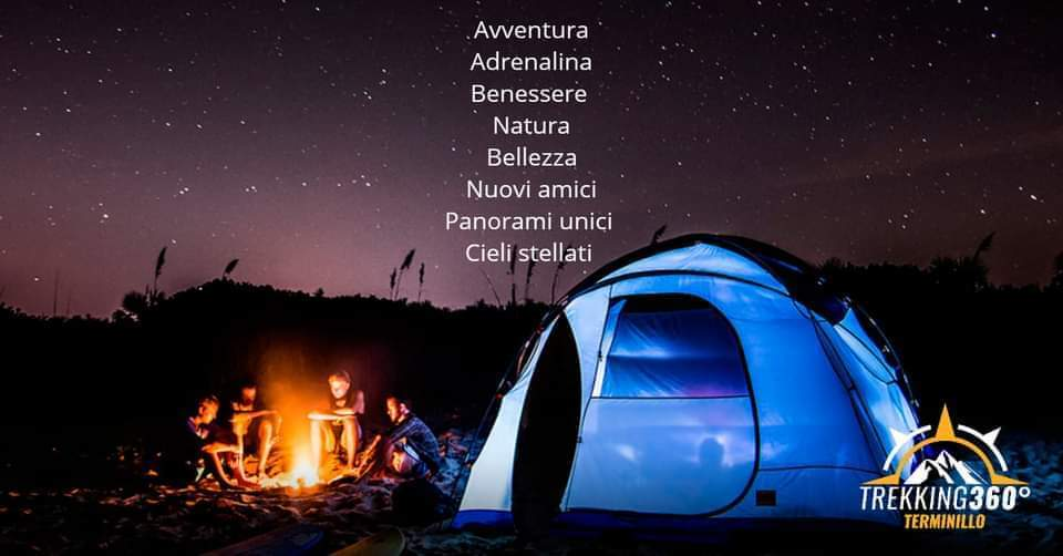 Trekking Week-end sotto le stelle al lago del Turano - eventi in sabina
