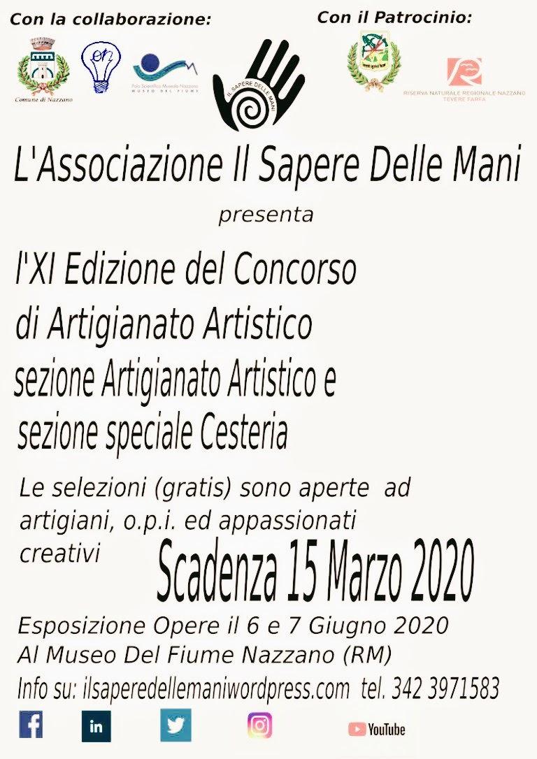 Il Sapere delle Mani – Concorso di Artigianato – 11^ edizione - eventi in sabina